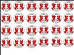 24 x Leyton Orient Football Edible Rice Wafer Paper Cupcake Top Toppers